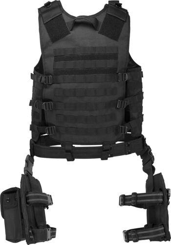 Barska BI12016 Men/'s Loaded Gear VX-100 Tactital Vest and Leg Platform