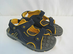 29d0c11a1ffb75 Columbia Blue Yellow Castle Rock Sandals Size 7 Youth (OAYA4-641)