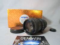 Wow Fast Rainbow Zoom 1.4/11.5-69mm C-mount Lens For Digital Movie Camera