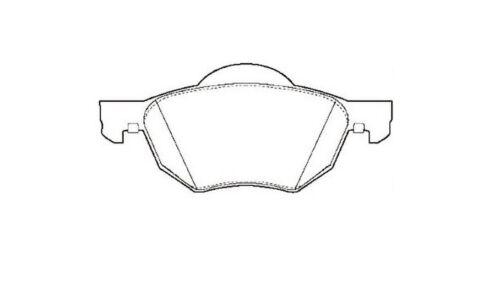 21394-12 Month Warranty! 1x OE Quality Brand New Front Brake Pad set