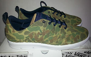 702bc4476af7f1 Image is loading VANS-OTW-CLASH-Tessella-CANVAS-green-CAMO-camouflage-