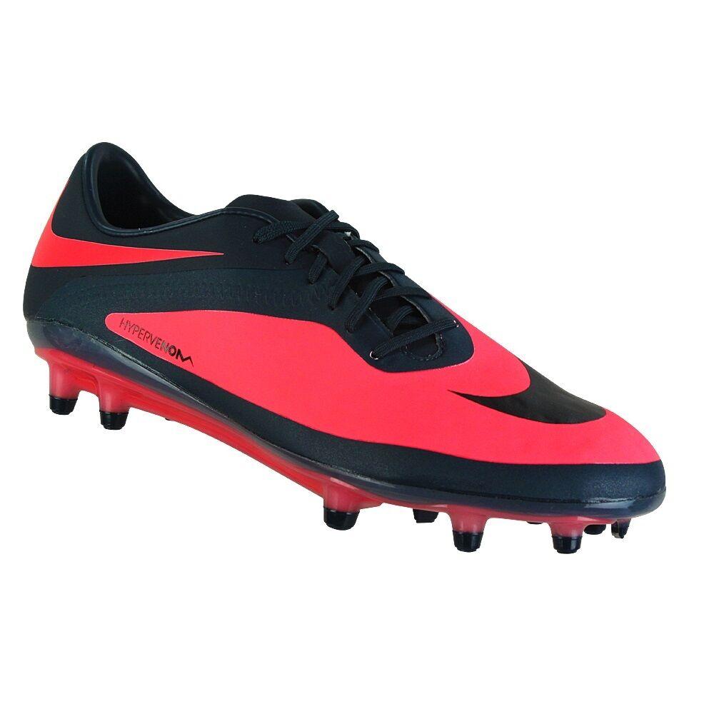 New Femme Nike Hypervenom Phatal FG Soccer Cleats Taille 8.5 rouge/Navy  120