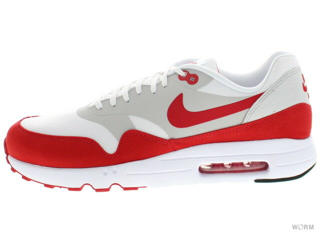 super popular 2abf7 db465 Nike Air Max 1 Ultra 2.0 White University Red Grey 908091-100 Size 9 for  sale online   eBay