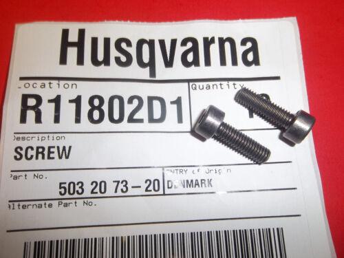 NEW HUSQVARNA MUFFLER BOLTS  FITS 570 575 575XP 576XP 503207320 OEM 2 PACK