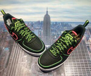 Nike Air Force 1 Low '07 PRM Premium WW Worldwide Mens Size 10 ...