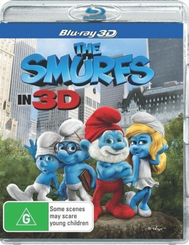 1 of 1 - The Smurfs (Blu-ray, 2012)