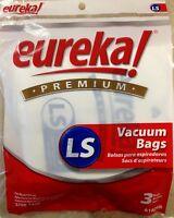 Eureka Ls Vacuum Bags (3pk) Genuine Part 61820b