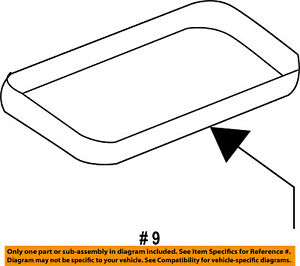 image is loading ford-oem-engine-intake-manifold-gasket-aa5z9439a