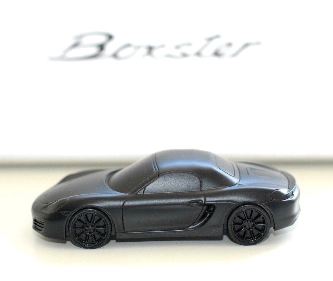 contador genuino Porsche 981 981 981 Boxster Billet Aluminio Modelo Pisapapeles De Metal Sólido Negro Mate  apresurado a ver