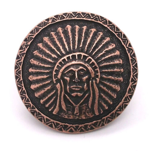 "Southwest Chief Antique Copper Concho Screwback 1.5/"" 7581-10 by Stecksstore"