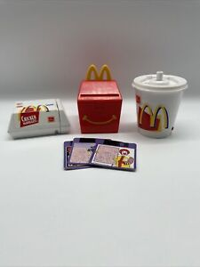 Vintage 1999 McDonald's Food Foolers Changeables Transforming Toys Lot Of 3