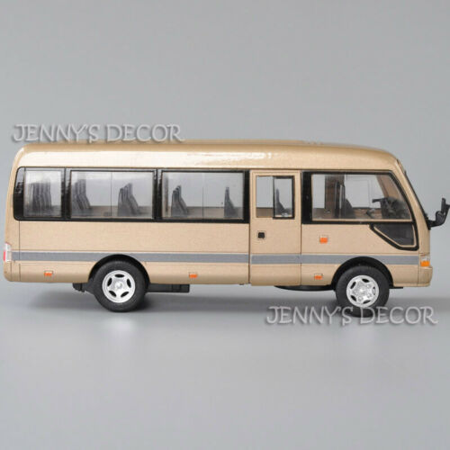 1:32 Diecast Commercial Vehicle Bus Model Toyota Coaster MPV Pull Back Toy