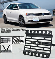 For 11-14 Volkswagen Jetta Sedan Ncs Front Bumper Tow Hook License Plate Bracket