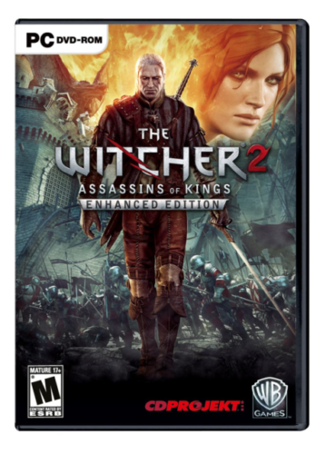 The Witcher 2 Assassins of Kings Enhanced Edition PC Brand New Sealed
