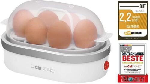 CLATRONIC EK 3497 Eierkocher für 6 Eier 400W Weiß