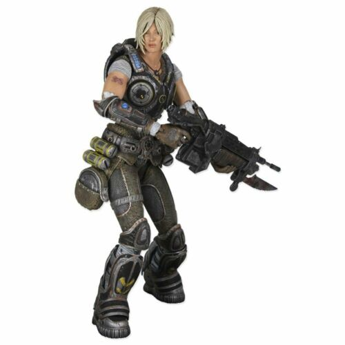 NEUF Lancer NECA Gears of War 3 Anya Stroud Figurine