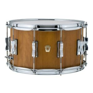 Ludwig-LKS784XXCH-Limited-Edition-Maple-Snare-Drum-8-034-x-14-034-Mojave-Cherry