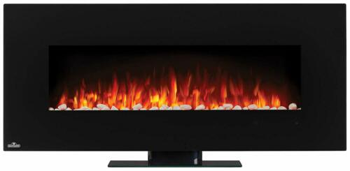 Napoleon 50 inch Electric Wall Mount Fireplace with Optional Stand