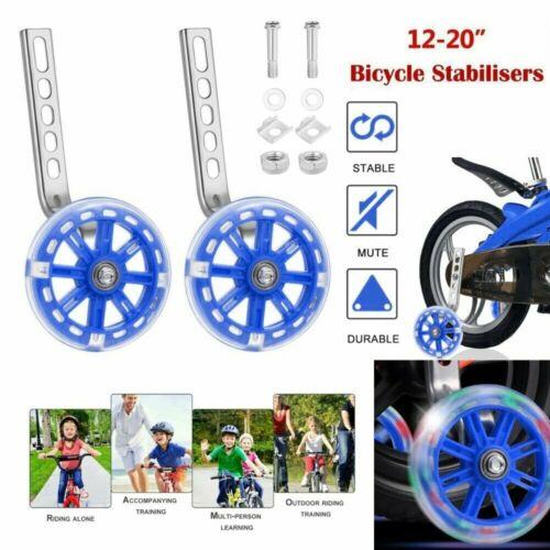2X Universal-Stützräder Hilfsräder für kinderfahrrad Fahrrad Stützräder 12-20/'/'