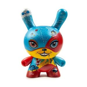 Humour Kidrobot 4 Bonnes Rien 8 In (environ 20.32 Cm) Dunny Figure New En Stock De Collection-afficher Le Titre D'origine