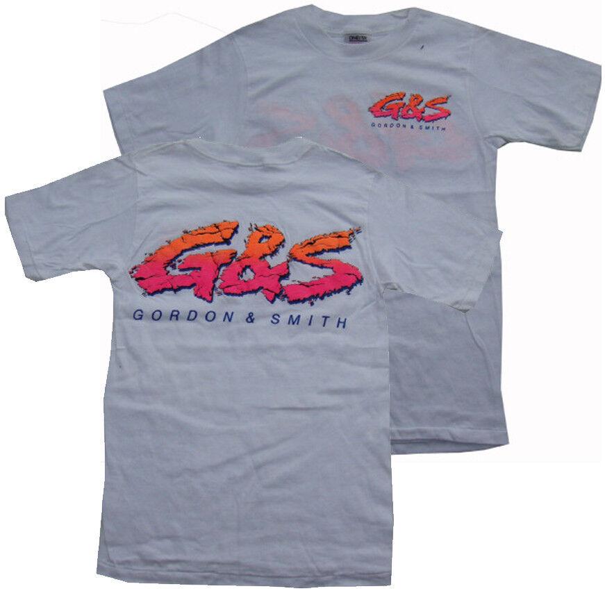 G&s   Gordon & Smith Clásicos Surf Camiseta - Clásicos' 80s Surf Retro - S-WP