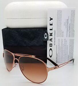 b43709baf01cf Image is loading Oakley-Caveat-Sunglasses-Rose-Gold-VR50-Brown-Gradient-