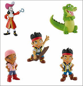 Bullyland-Jake-And-The-Neverland-Pirates-Figures-Toys-Cake-Topper-Toppers