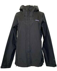 PATAGONIA BLACK RAIN SHELL JACKET, L, $225
