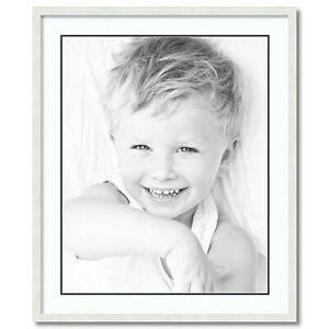 """24x30 Opening ArtToFrames Matted 28x34 Black Picture Frame with 2/"""" Double Mat"""