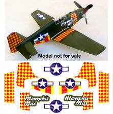 Poster Aerobatic Flying Air Plane Airplane Miss America P51-D Mustang 1983