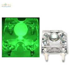 10 SuperFlux LEDs GRÜN PIRANHA 3mm LED Zubehör 12V, green vert groen