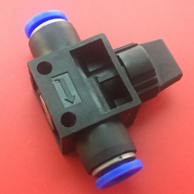 Pneumatic Ball Valve Manual Shut-Off Push In Fitting for Air Water Hose Tube UK