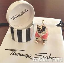 THOMAS SABO | AUTHENTIC Silver Pink Hip Hop / Disco French Bulldog: T0277-007-9