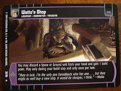 Star Wars TCG TPM Watto/'s Shop