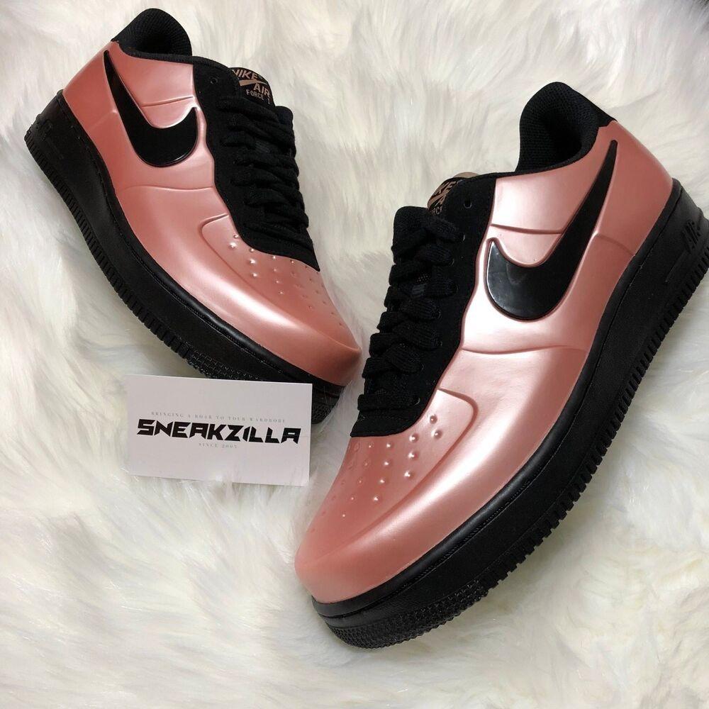 Nike Air Force One 1 Foamposite Cup Sole CORAL STARDUST AF1 AJ3664-600 CUPSOLE Chaussures de sport pour hommes et femmes