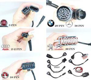 CAR-CABLES-OBD2-OBDII-Connector-For-Delphi-AUTOCOM-CDP-Diagnostic-Adapters