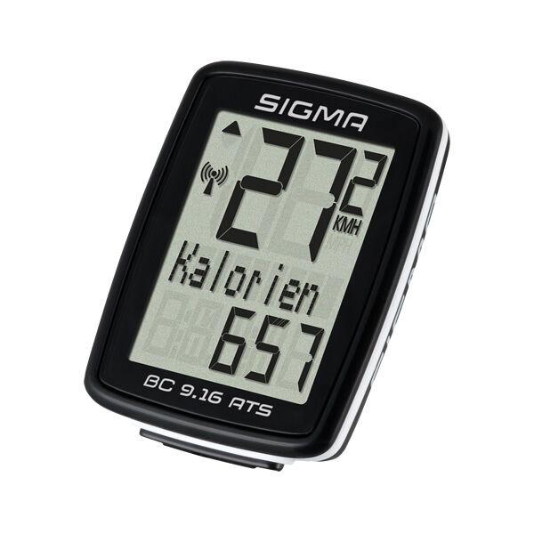 Fahrrad Computer Sigma Sport BC 9.16/ATS  kabellos  schwarz