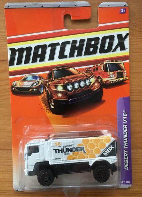 Matchbox Desert Thunder V16 MOC #93 2010 1:64