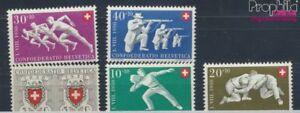 Schweiz-545-549-postfrisch-1950-Pro-Patria-7387817