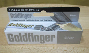 22ml-47-68-100ml-Goldfinger-Metall-Paste-Silver-Metallbronze-Silver