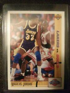 Magic-Johnson-vs-Michael-Jordan-91-92-Upper-Deck-Classic-Confrontation-Card-34