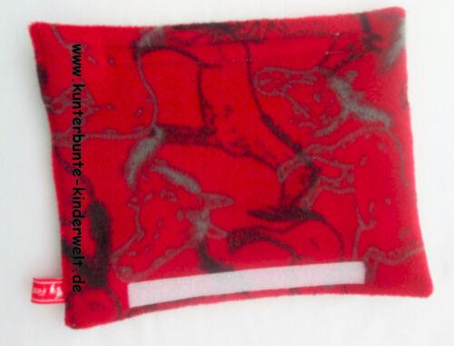 Gurtpolster Sicherheits-Gurtpolster Pferde Pferde-Gurtpolster rot mit Motiv