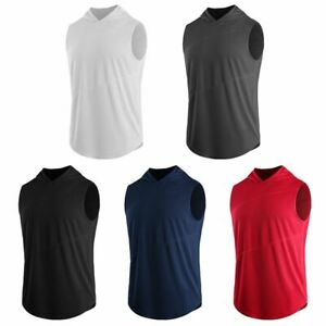 Fashion-Men-Hoodie-Sleeveless-Sweatshirt-Tank-Tops-Sport-Hooded-Vest-Fitness-Tee