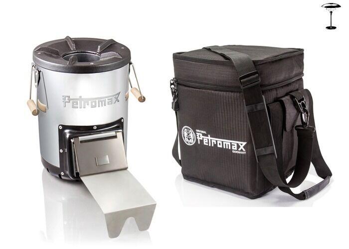 + - Petromax misiles horno rf33 + - bolsa de transporte de misiles horno  outdoorgrill