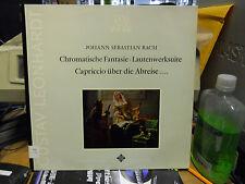 JOHANN SEBASTIAN BACH CHROMATISCHE FANTASIE LEONARDT USED LP VG++ SAWT 9571-B