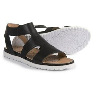 4bad140499e Image is loading MOOTSIES-TOOTSIES-Marilyn-Black-Cushioned-Gladiator-Sandals -Womens-
