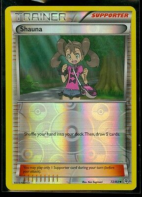 SHAUNA 72//83 POKEMON GENERATIONS TRAINER CARD