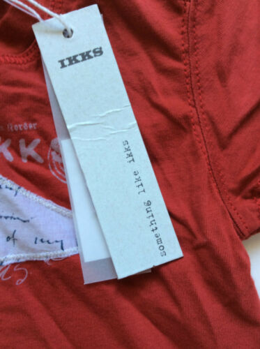 Details about  /IKKS Infant Boys Short Sleeve T-Shirt Red 3m 6m NWT $42