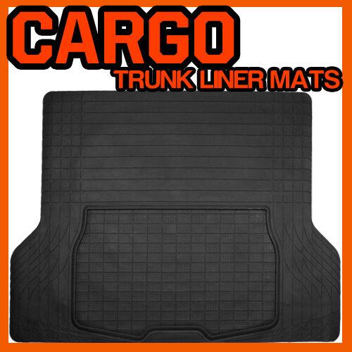 Fits HONDA CRV RUBBER CARGO TRUNK LINER MAT // MT-1009BK BLACK