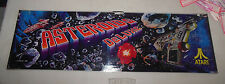 ASTEROIDS DELUXE ATARI   22 3/4-7 '' arcade game sign marquee CHECK PICTURE CF99